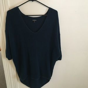 navy blue express sweater
