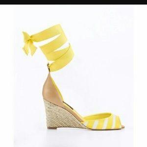 Ann Taylor Shoes - Ann Taylor Espadrille Wedge NWT