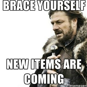 Other - More items will be added this week!