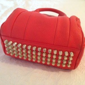 Alexander Wang Rocco Bag in Tomato Red