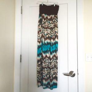 Macy's Dresses & Skirts - NWT Strapless Maxi Dress!