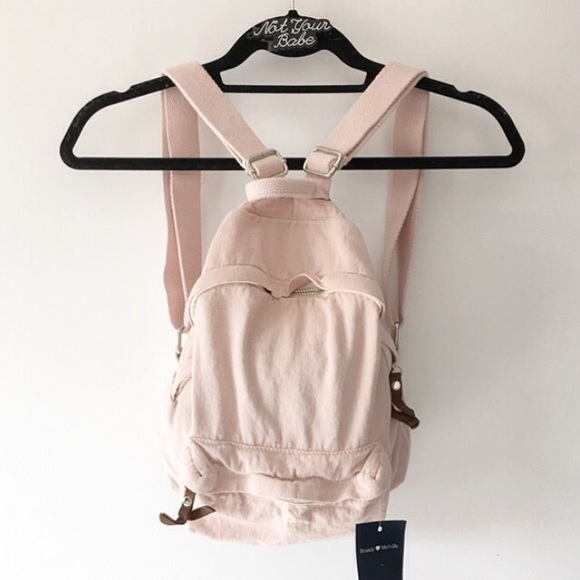 b84e5bfc20 Brandy Melville Bags | John Galt Blush Mini Backpack | Poshmark