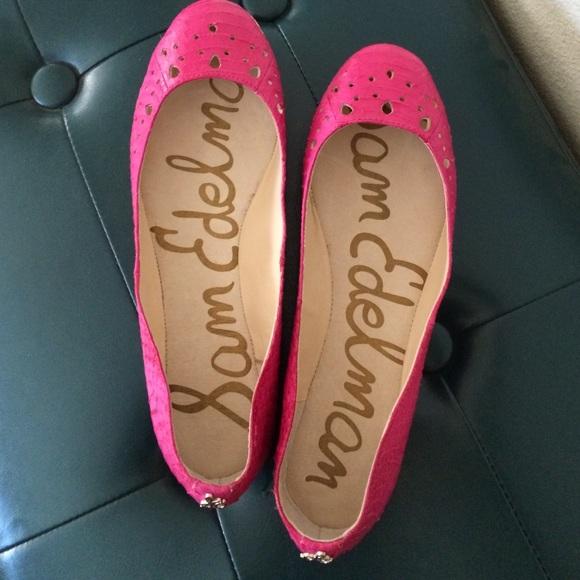 508fd6bf43cbdc Sz 8 Sam Edelman pink flats. M 57ab9e7eeaf0306a93001858