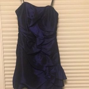 Laundry by Shelli Segal Strapless Party Dress