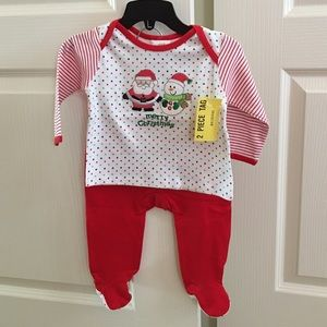 Absorba Other - NWT Absorba Merry Christmas set- 3/6 months