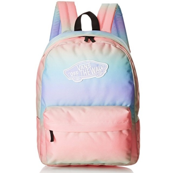 PASTEL RAINBOW VANS BACKPACK (‼️NOT FOR SALE‼️)