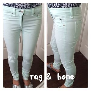 rag & bone for intermix legging ice mint