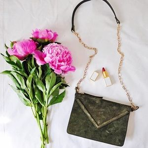 Zara Handbags - Zara Green Bag