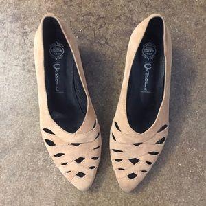 Jeffrey Campbell Tan Suede Shoes