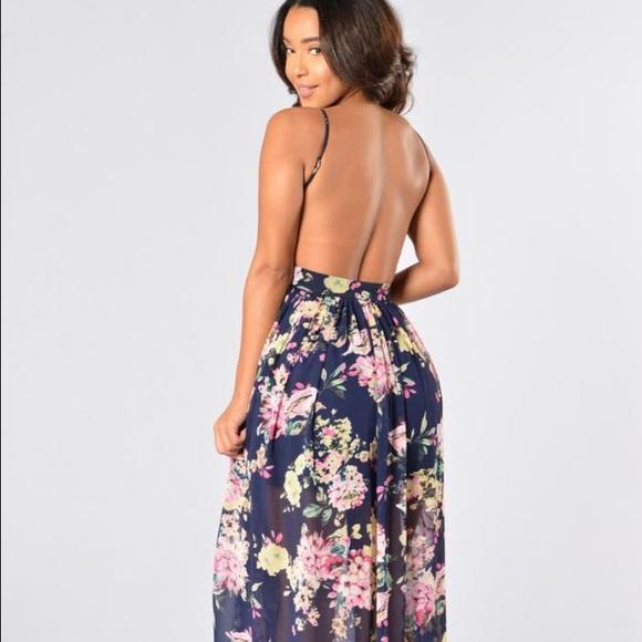 Fashion Nova Beauty Queen Maxi Dress: 9% Off Fashion Nova Dresses & Skirts