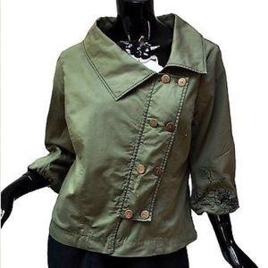 Anthropologie Jackets & Blazers - 🎉SALE BNWT Fei embroidered asymmetrical  jacket 8