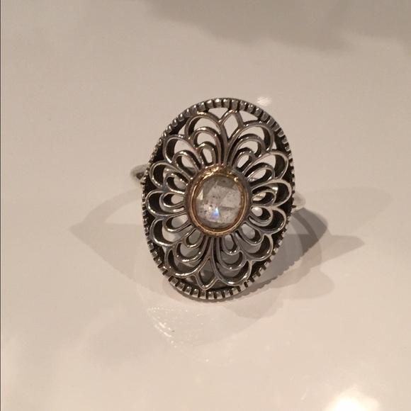 Pandora Jewelry Retired Vintage Allure Ring 75 56 Poshmark