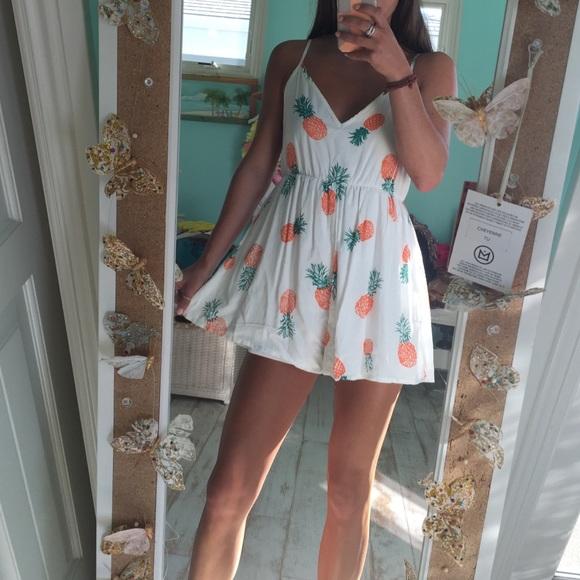 3cc787a87ae Dresses   Skirts - Pineapple romper