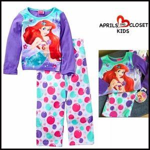 Boutique Other - ❗️1-HOUR SALE❗️ARIEL PAJAMA SET Fleece Mermaid PJs