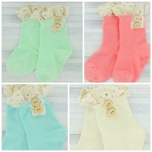 Boutique Other - 4pc Toddler Ankle Socks