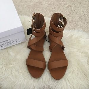 Forever 21 Shoes - Strappy Sandals Chestnut