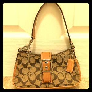 Coach Purse Clutch To Wristlet Bag