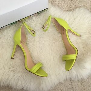 Prabal Gurung for Target Shoes - Prabal Gurung for Target Neon Ankle Strap Heels