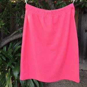 Vintage Dresses & Skirts - Vintage Coral Skirt.