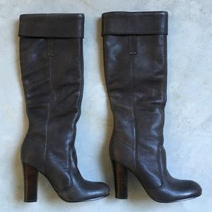 Miss Sixty Shoes - Miss Sixty gray leather boots size 37