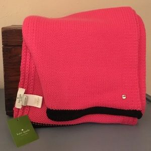 *sale*Kate spade pink swirl scarf