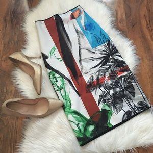 Clover Canyon Dresses & Skirts - Clover Canyon Floral Midi Skirt