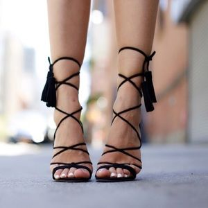 Asos lace up heels