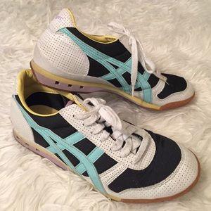 Onitsuka Tiger by Asics Shoes - Onitsuka Tigers Sneakers 8 Navy White Aqua