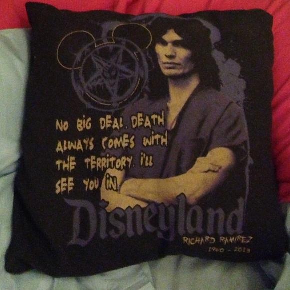 Richard Ramirez Quote Serial Killer Pillow Case