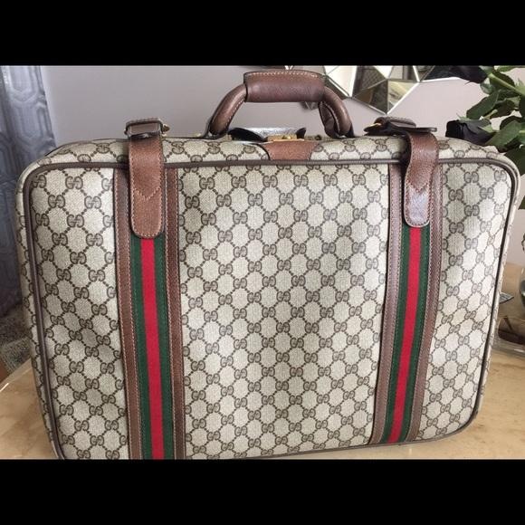 f63df0641 Gucci Bags | Vintage Suitcase | Poshmark