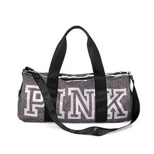 VS PINK Reflective Duffle Gym Bag