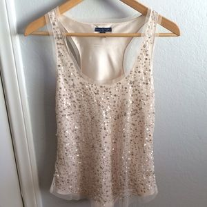 American Eagle sequin tank top