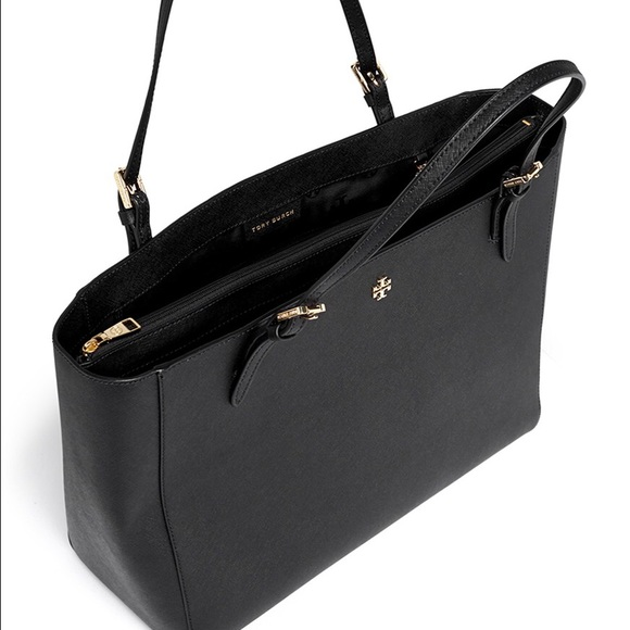 5aed5390393a Tory Burch York Small Buckle Tote. M 57abfb8d36d594767c0106cc. Other Bags  ...