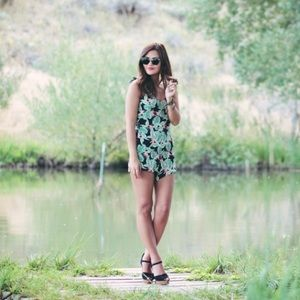 Free People Other - Floral romper from Free People