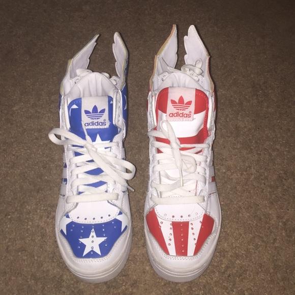 cec18b3fda3d Jeremy Scott x Adidas Shoes