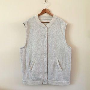 Vintage Jackets & Blazers - '80s / Vintage Oversized Fleece Vest