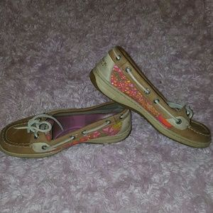 Sperry Top-Sider Shoes - Sperry Top Sider Leather Flats Boat Shoes