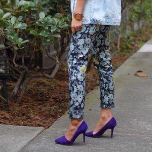Aldo Shoes - Aldo purple suede pumps
