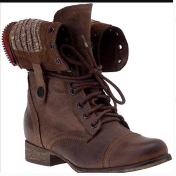 74% off Steve Madden Shoes - Steve Madden combat boots with iconic ...