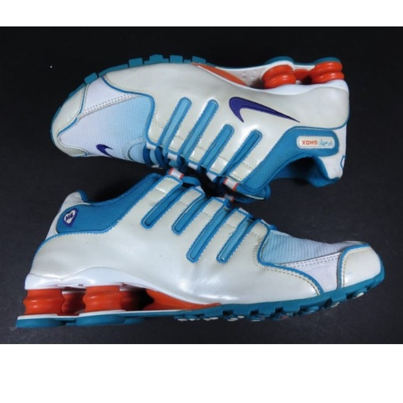 Nike Shox NZ Molly Doernbecher Sneakers Blue White