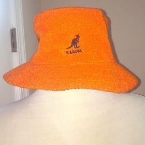 Kangol Other - Vintage Orange Kangol Hat size Medium😘😘