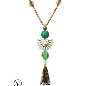 Stella & Dot Totem tassel necklace
