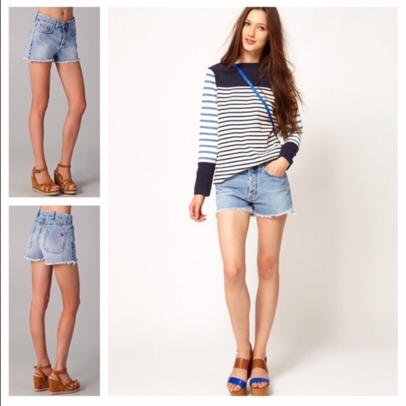 Halsy cut off denim shorts - Blue Mih Jeans Sale Cost V3LCoEiClg