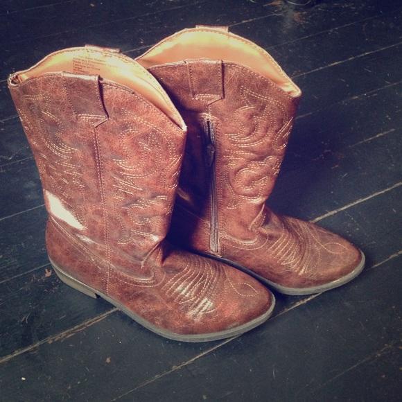 Target Shoes   Kids Cowboy Boots   Poshmark