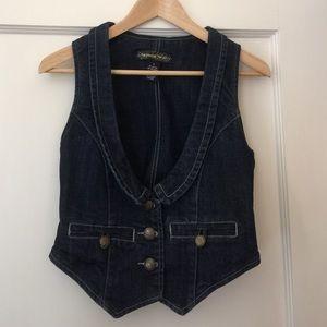 Imperial Star Jackets & Blazers - Cute denim vest!