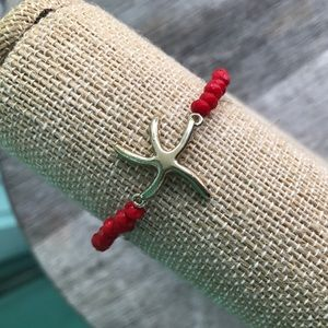 Jewelry - $5 SALE! Starfish bracelet
