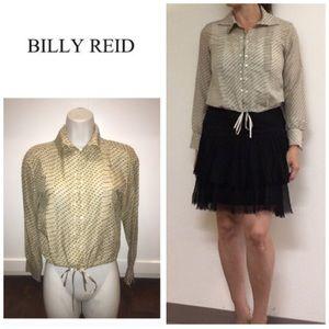 Billy Reid Tops - Billy Reid clipdot Buttondown blouse