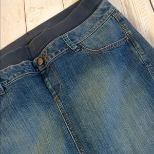 Old Navy Dresses & Skirts - SALE❤️B1G1•50%OFF🎈MATERNITY DENIM SKIRT