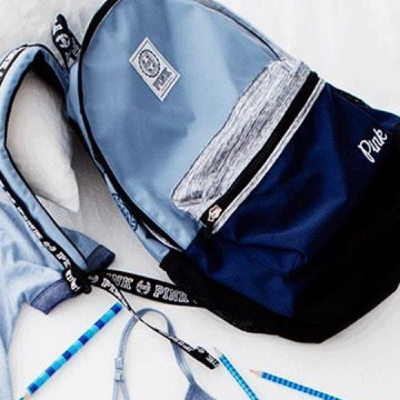 d3567d92a88e ISO blue Vs Pink campus backpack