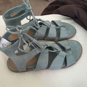 Teal Old Navy Sandals